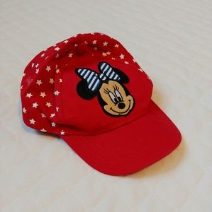 XS baby girl Minnie mouse hat